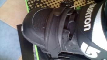 salomon boots schauen übers snowboard raus, problem
