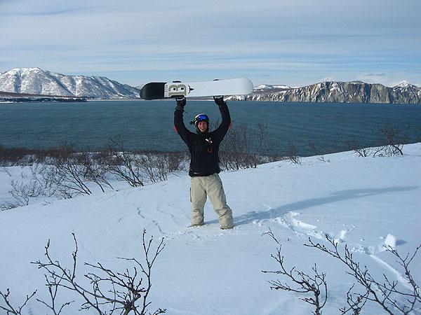 Kamchatka Snowboarden