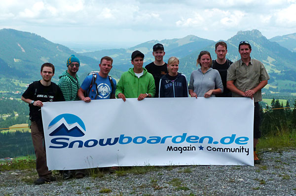 Neues Snowboarden.de Logo
