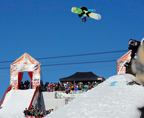Burton European Open in LAAX