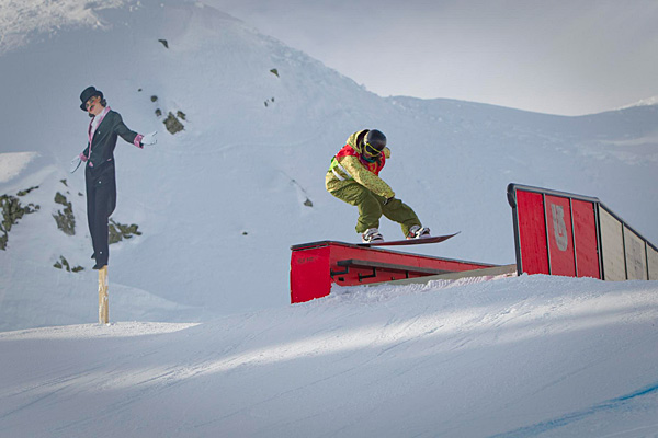 BEO 2010 Laax - Slopestyle